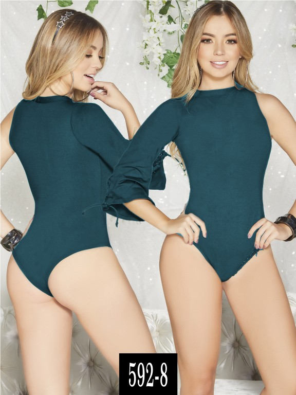 Body Colombiano - Ref. 268 -592-8 Verde