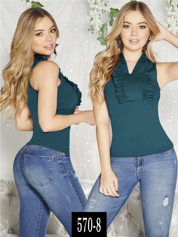 Blusa Colombiana - Ref. 268 -570-8 Verde