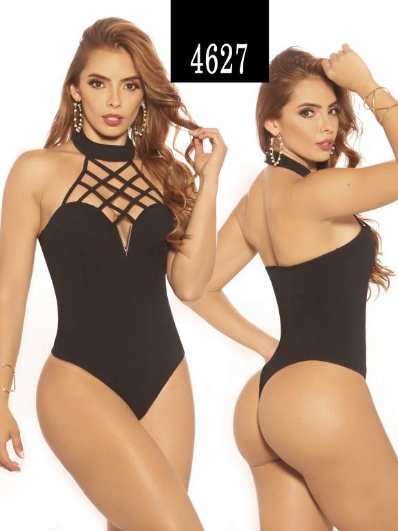 Blusa Moda Colombiana Vikats - Ref. 252 -4627-2 Negro