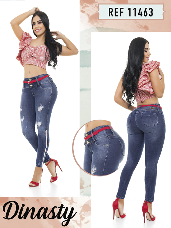 Jeans Colombianos - Ref. 101 -11463 Dinasty
