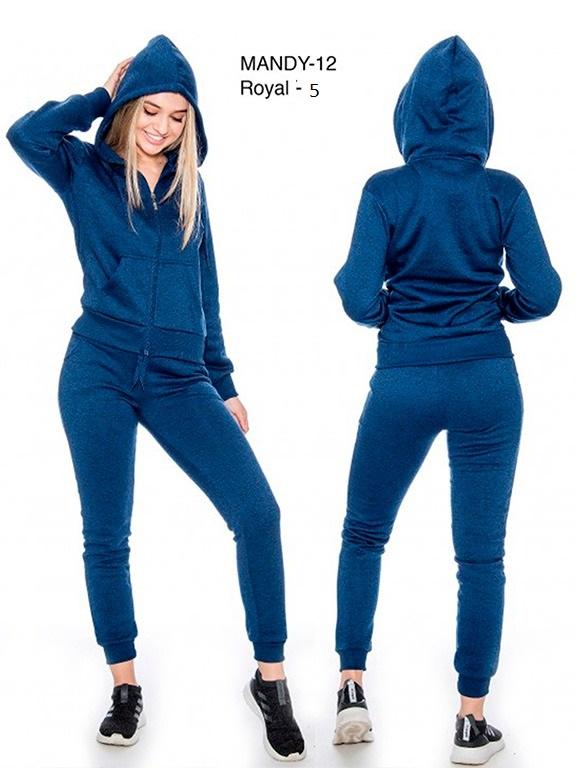Conjunto Sudadera L.A  - Ref. 200 -Mandy 12- 5 Azul