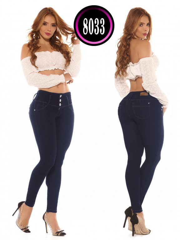 Colombian Butt lifting Jean  - Ref. 119 -8033