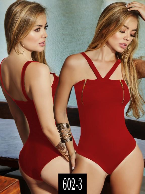 Body Colombiano - Ref. 268 -602-3 Rojo