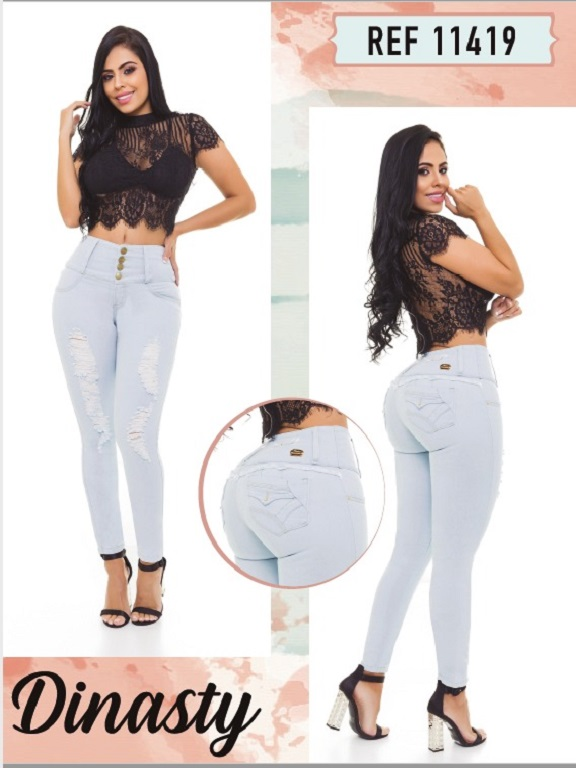 Jeans Colombianos - Ref. 101 -11419 Dinasty
