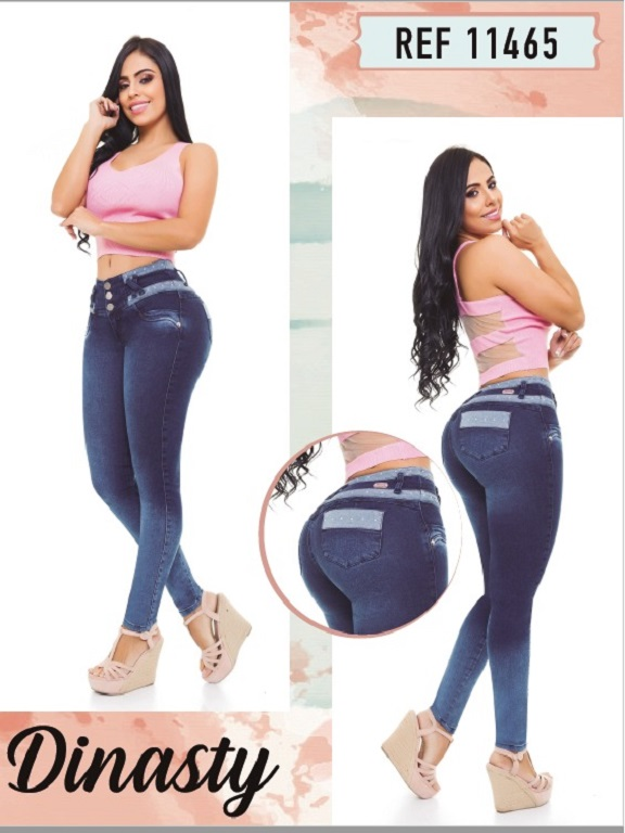 Jeans Colombianos - Ref. 101 -11465 Dinasty