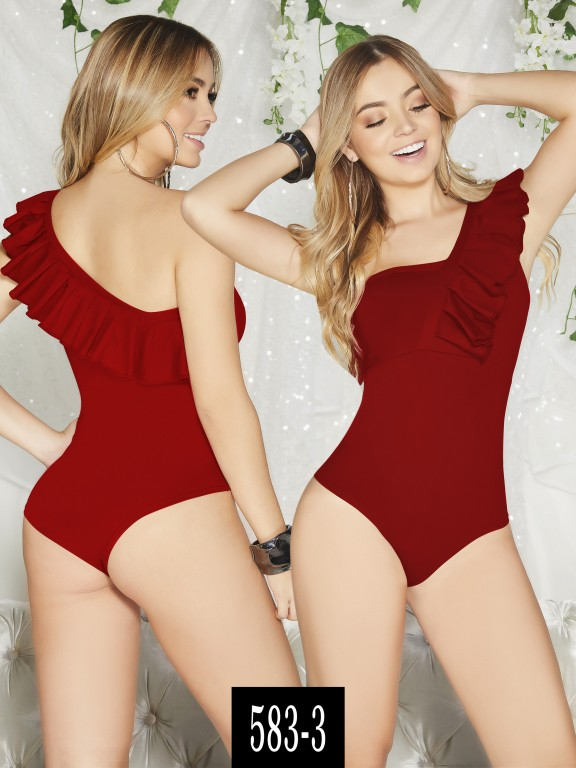 Body Colombiano - Ref. 268 -583-3 Rojo