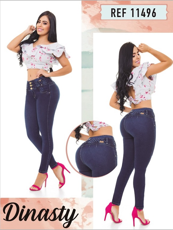 Jeans Colombianos - Ref. 101 -11496 Dinasty