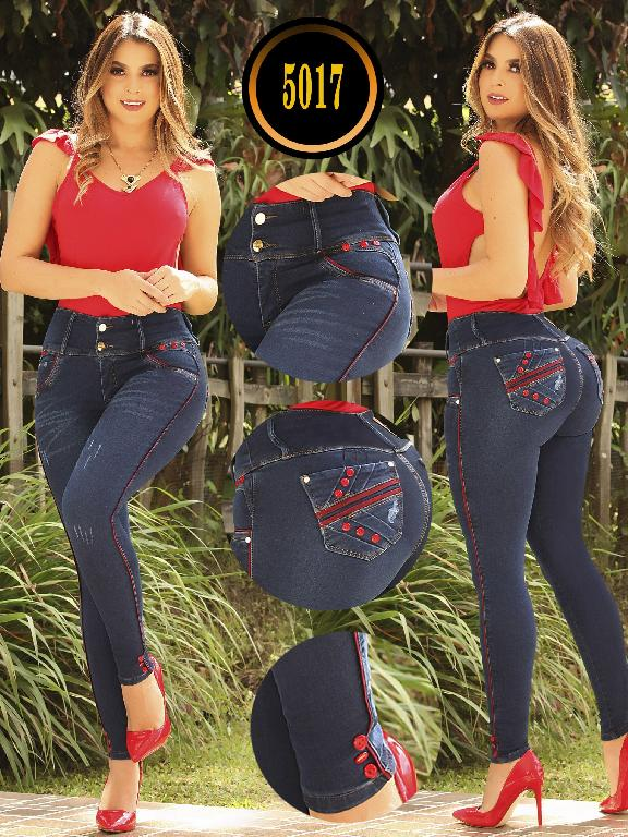 Jeans Levantacola Colombiano - Ref. 119 -5017 S