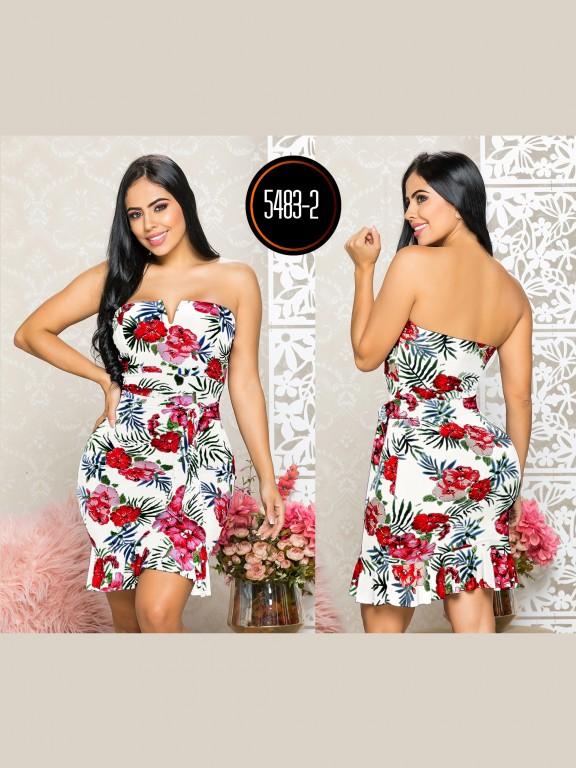 Colombian dress - Ref. 119 -5483-2