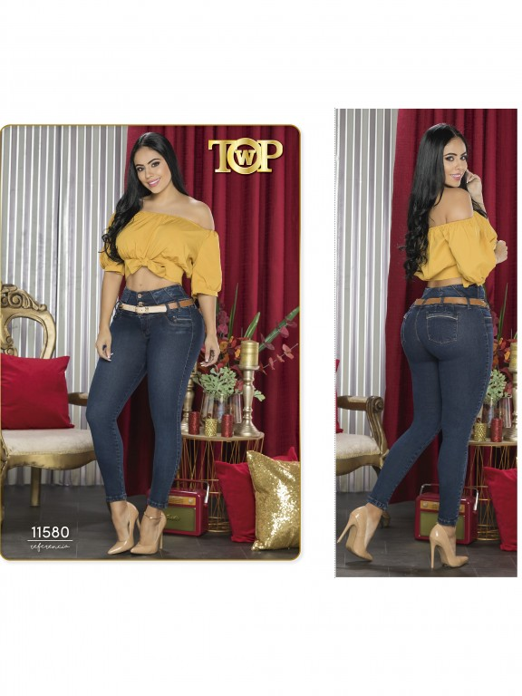 Jeans Colombiano - Ref. 123 -11580 TW
