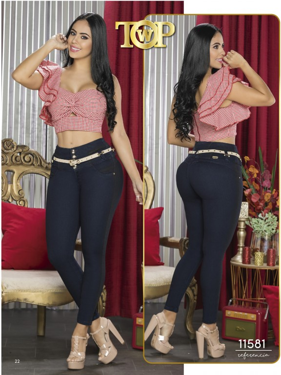 Jeans Colombiano - Ref. 123 -11581 TW