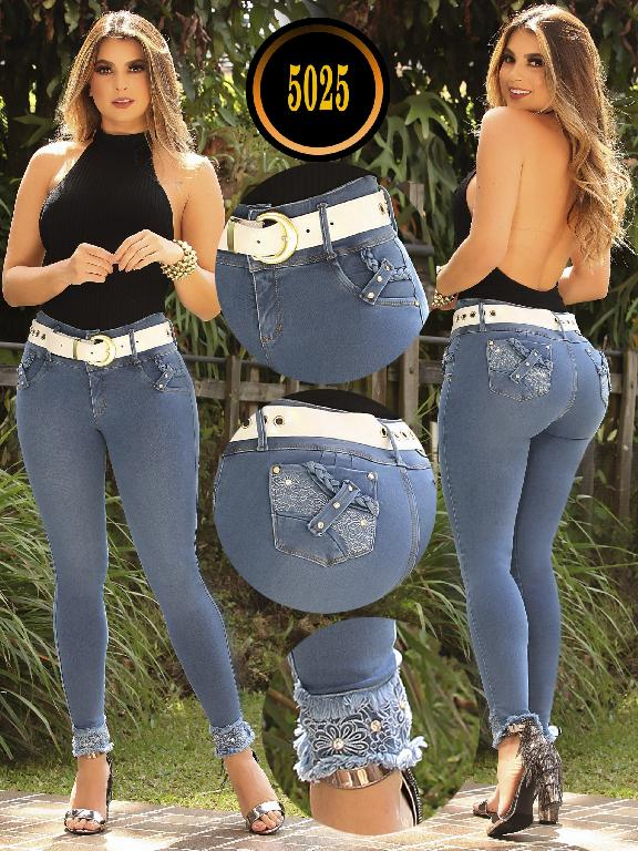 Colombian Butt lifting Jean - Ref. 119 -5025 S