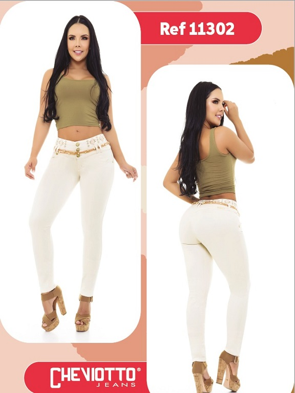 Jeans Colombiano Cheviotto - Ref. 101 -11302