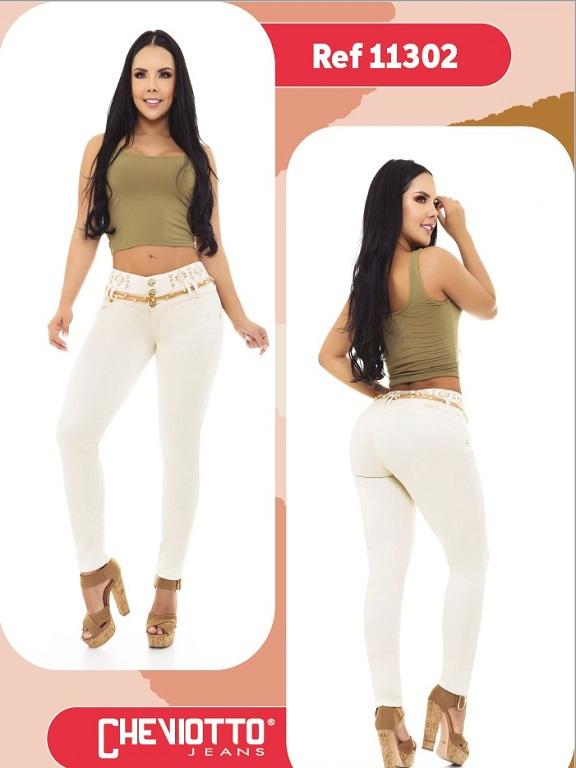 Jeans Colombiano Cheviotto - Ref. 101 -11302