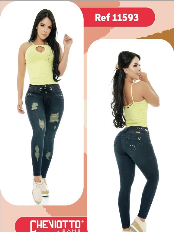 Jeans Colombiano Cheviotto - Ref. 101 -11593