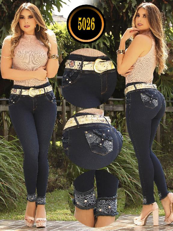 Colombian Butt lifting Jean - Ref. 119 -5026 S