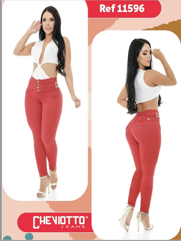 Jeans Colombiano Cheviotto - Ref. 101 -11596