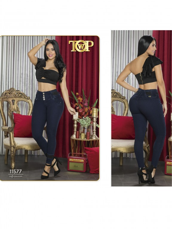 Jeans Colombiano - Ref. 123 -11577 TW