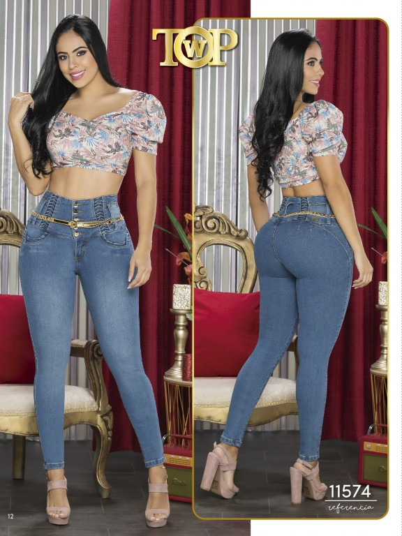 Jeans Colombiano - Ref. 123 -11574 TW