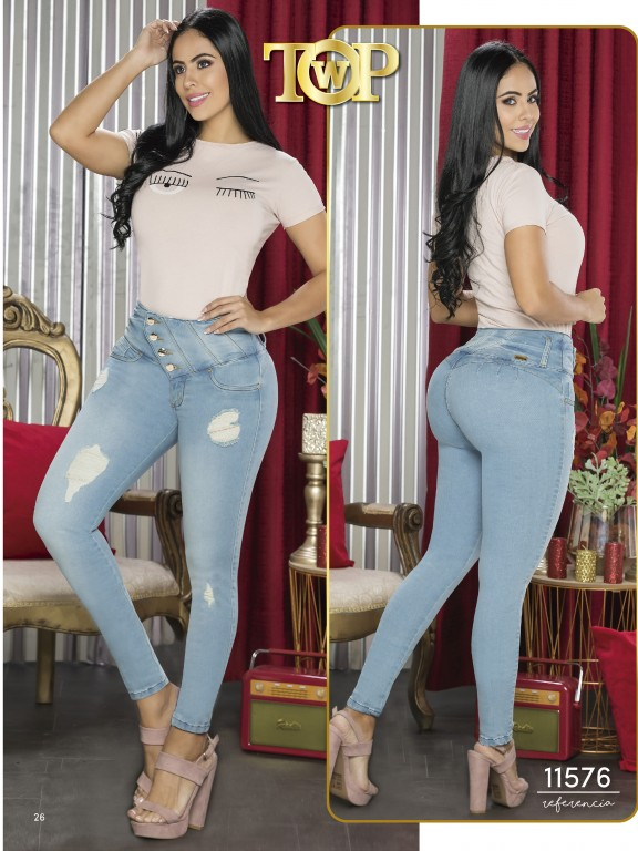 Jeans Colombiano - Ref. 123 -11576 TW
