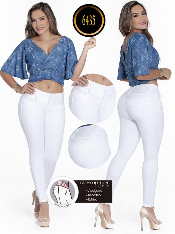 Jeans Colombianos - Ref. 278 -6435