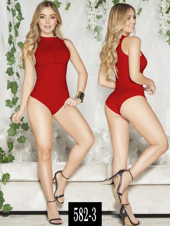 Body Colombiano - Ref. 268 -582-3 Rojo