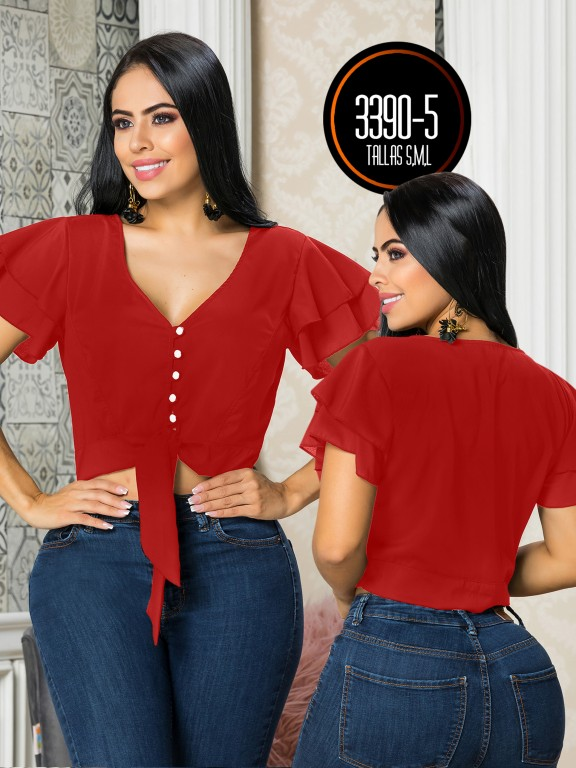 Colombian Fashion Blouse - Ref. 119 -3390-5
