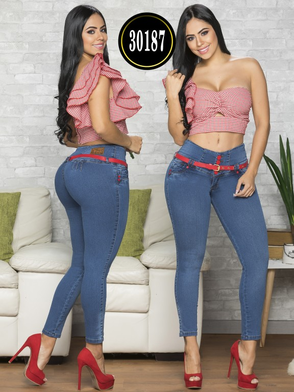 Colombian Butt lifting Jean - Ref. 119 -30187TE
