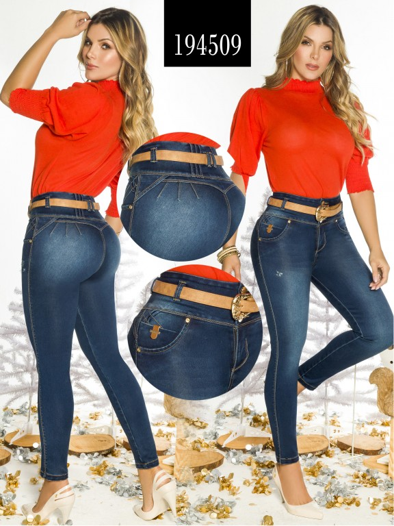 Jeans Levantacola Colombiano  - Ref. 270 -194509
