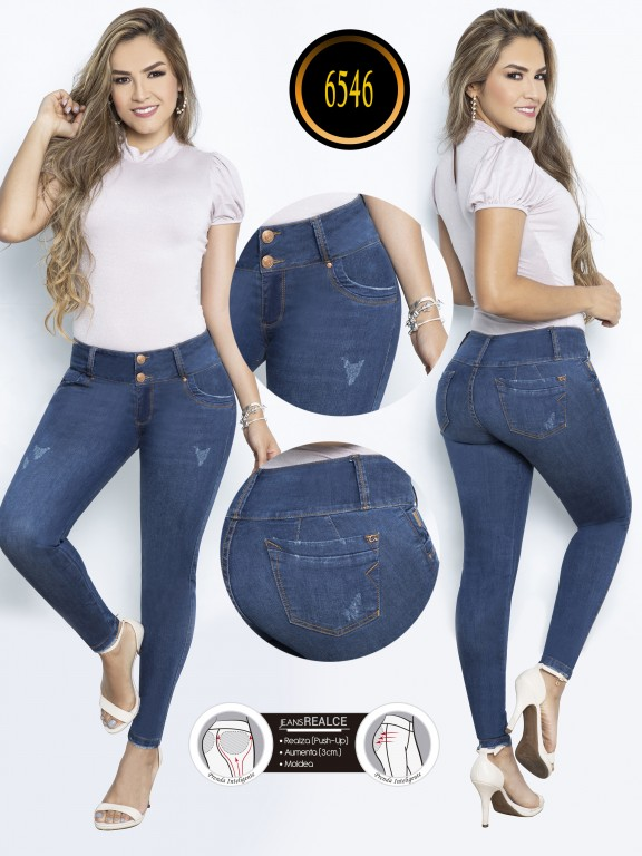 Jeans Colombiano - Ref. 278 -6546