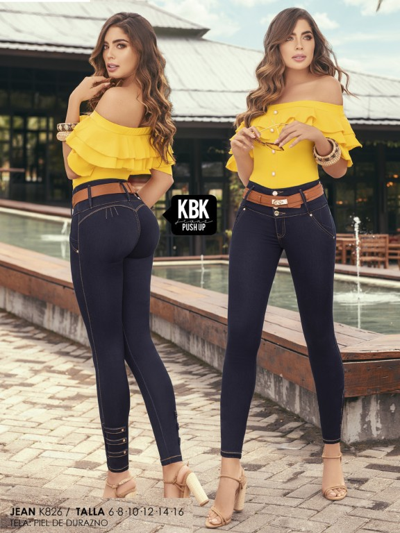 Colombian Butt lifting Jeans - Ref. 119 -826K