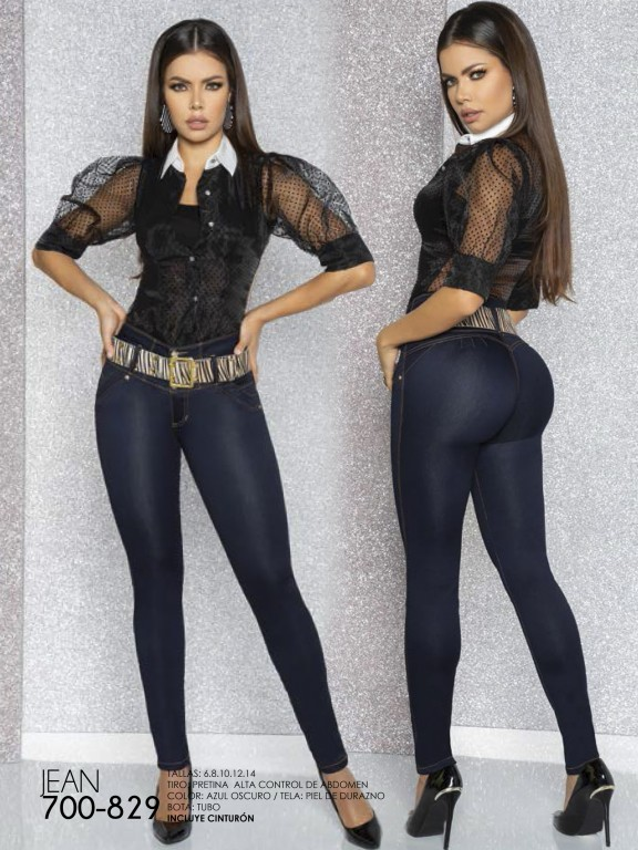 Jeans Levantacola Colombiano - Ref. 287 -829