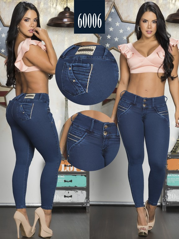 Jeans Clasico Colombiano - Ref. 285 -60006