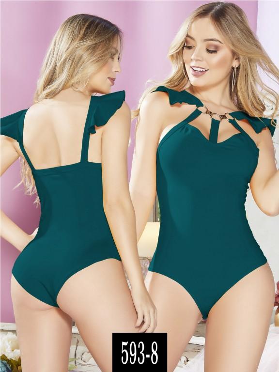 Body Colombiano - Ref. 268 -593-8 Verde