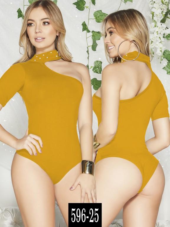 Body Colombiano - Ref. 268 -596-25 Mostaza