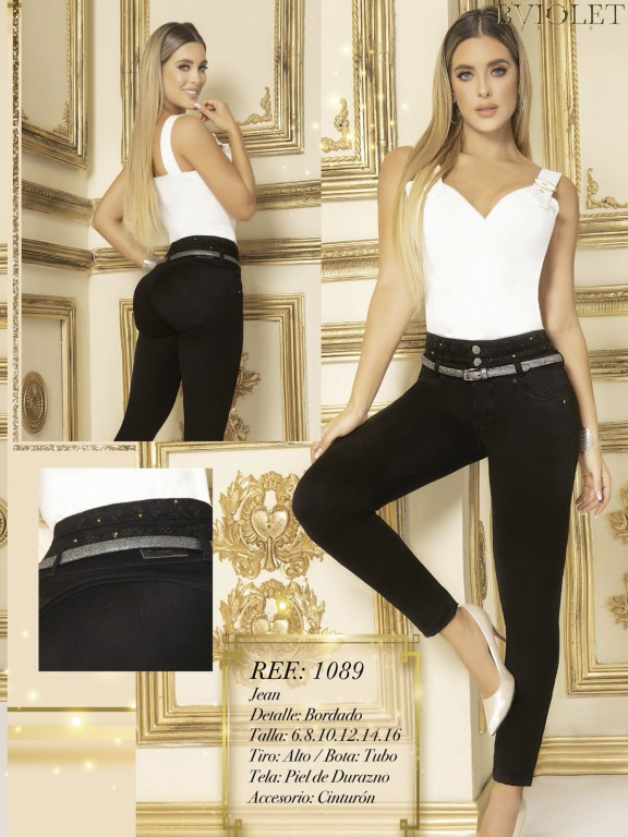 Jeans Colombianos - Ref. 280 -1089