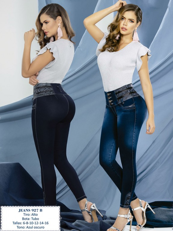 Jeans Levantacola Colombiano - Ref. 288 -0927