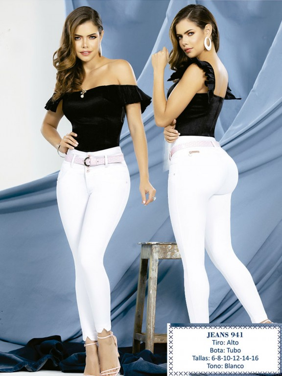 Jeans Levantacola Colombiano - Ref. 288 -0941