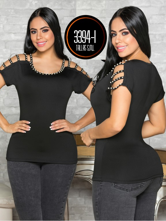 Colombian Fashion Blouse - Ref. 119 -3394-1
