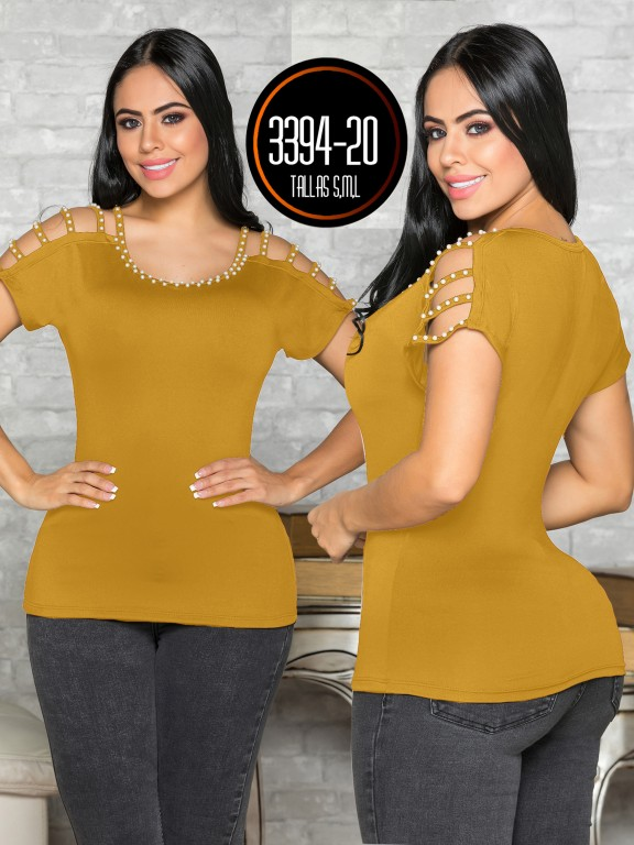 Colombian Fashion Blouse - Ref. 119 -3394-20