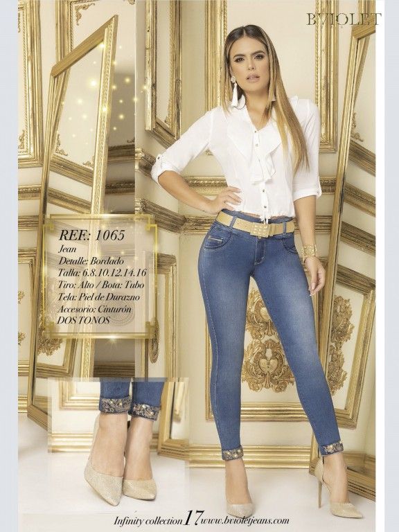 Jeans Levantacola Colombiano - Ref. 280 -1065