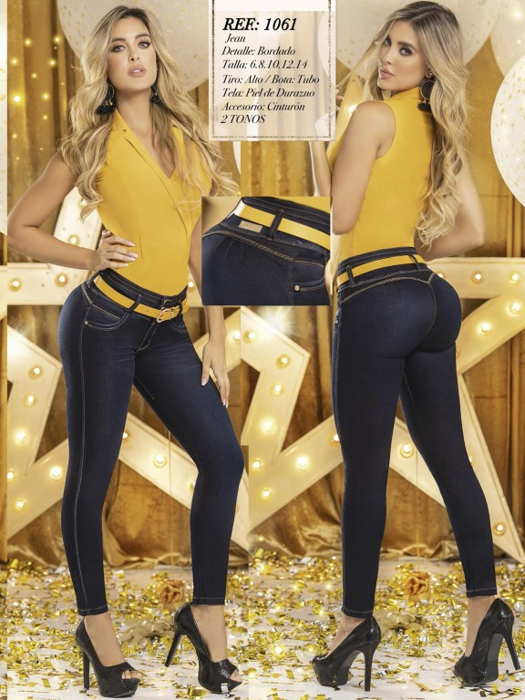 Jeans Levantacola Colombiano  - Ref. 280 -1061