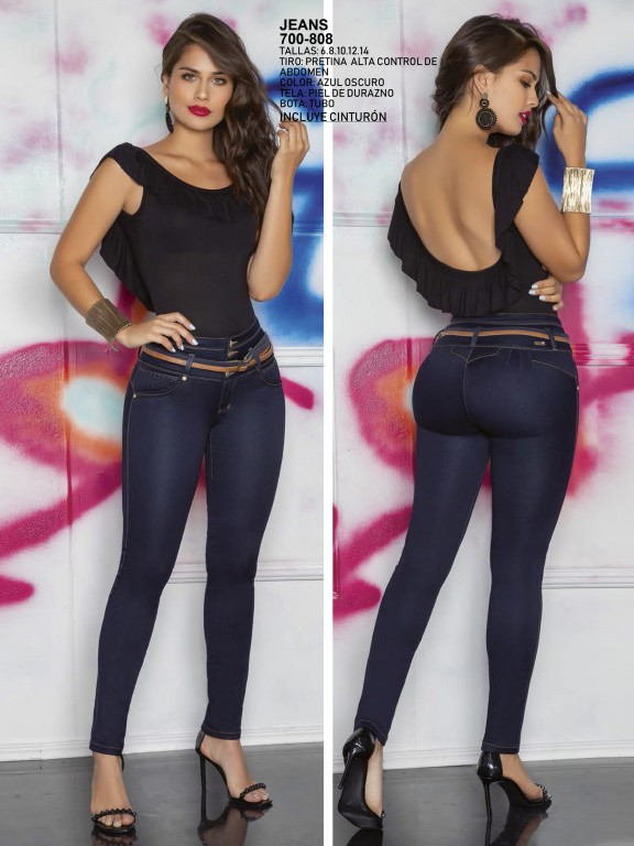 Jeans Levantacola Colombiano - Ref. 287 -0808