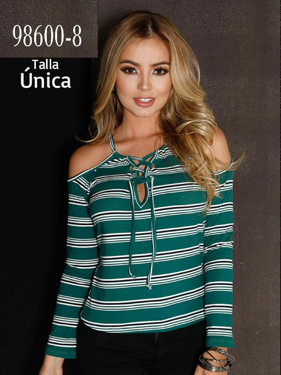 Blusa Colombiana - Ref. 266 -98600-8 Verde