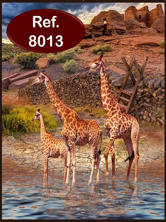 Cobija K Jirafas - Ref. 272 -8013 K Jirafas