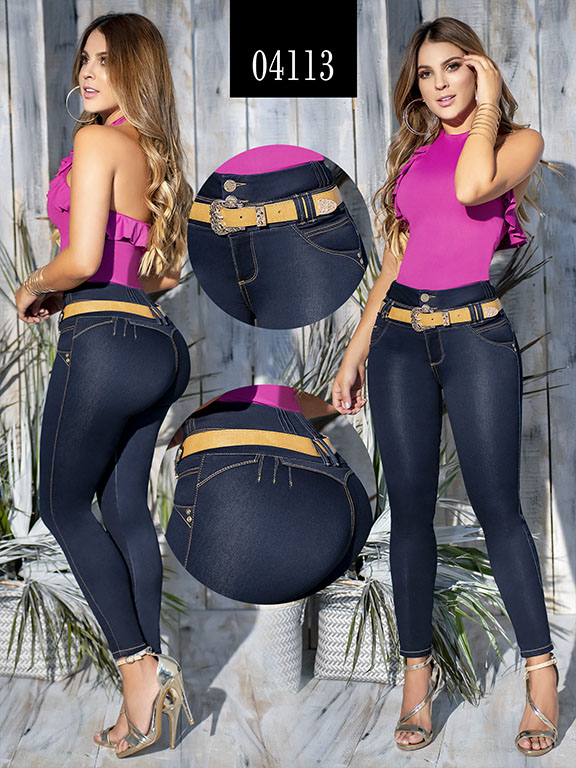 Jeans Levantacola Colombiano - Ref. 270 -4113