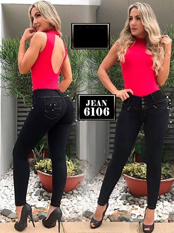 Jeans Levantacola Colombiano Osheas - Ref. 269 -6106
