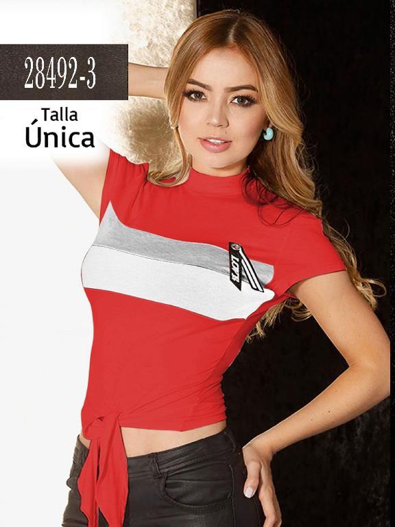 Blusa Colombiana - Ref. 266 -28492-3 Rojo