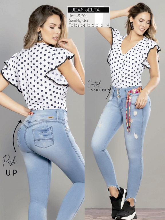 Jeans Colombianos - Ref. 282 -2065