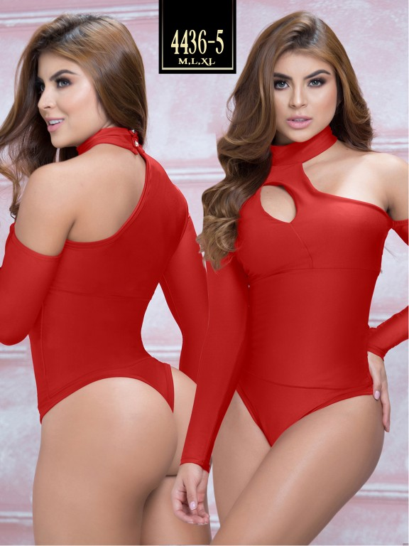 Body Reductor Colombiano Capellini  - Ref. 114 -4436-5 Rojo